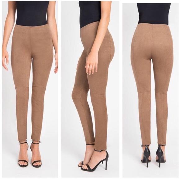 e23ae8f93b2e5b Lysse Pants | Camel Faux Suede Skinny Leggings S | Poshmark